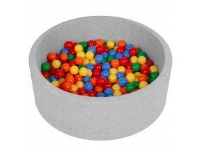 """Dětský suchý bazének """"90x30"""" s míčky barevné 200 ks"""