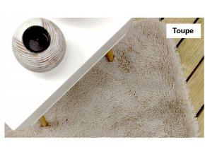 Plyšový koberec - Toupe