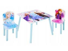 Dětský stůl s židlemi FROZEN 04
