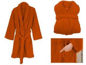 Dámský župan LADY SECRET - oranžový