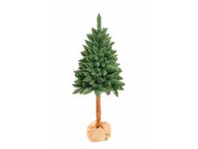 Umělá vánoční stromek - Borovice přírodní kmen 160 cm