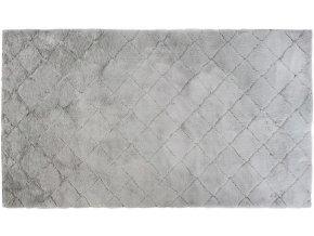 Plyšový koberec RABBIT OSLO DESIGN - Světle Šedý