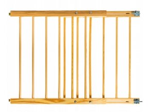 Bezpečnostní zábrana bezpečnostní bariéra 72-122 cm,výška 100 cm