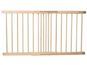 Bezpečnostní zábrana bezpečnostní bariéra 102-162cm, výška 74 cm