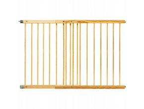 Bezpečnostní zábrana bezpečnostní bariéra 102-162cm, výška 82 cm
