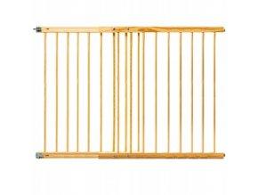 Bezpečnostní zábrana bezpečnostní bariéra 102-162cm, výška 100 cm