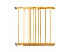 Bezpečnostní zábrana bezpečnostní bariéra 52-72 cm,výška 74 cm