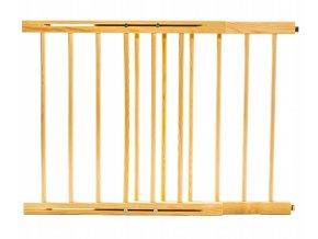 Bezpečnostní zábrana bezpečnostní bariéra 72-122 cm,výška 74 cm