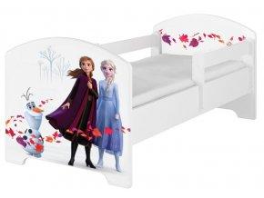 Dětská postel disney frozen 2 bílá 180x80cm
