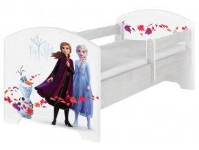 Dětská postel disney frozen 2 norské borovice 180x80cm