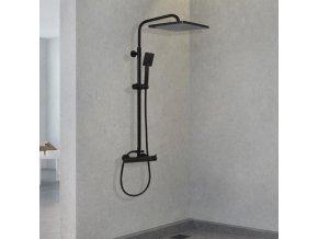 Sprchová souprava KARPO černá