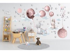 Samolepka balóny 133