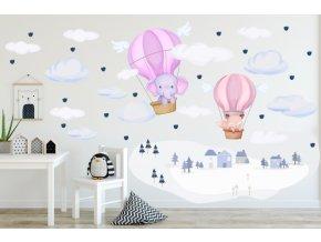 Samolepka balóny 139