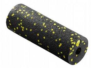 masážní válec - 15 cm černá - žlutá