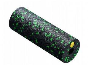 Masážní válec - 15 cm černá - zelená