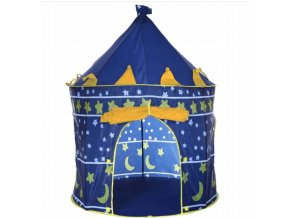 Dětský stan - Královský modrý hrad