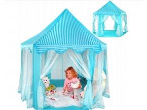 Dětský stan - modrý
