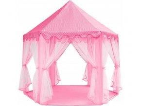 Dětský stan - růžový