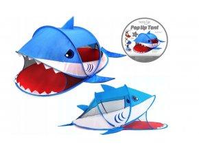 Dětský stan - žralok