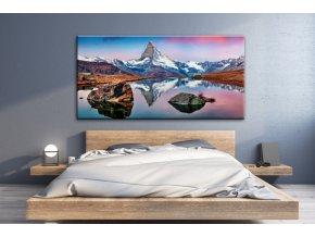 Obraz na plátně hory, vzor 41239