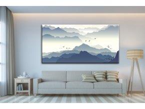 Obraz na plátně hory, vzor 41355