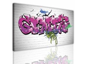 Obraz na plátně graffiti, vzor 15157
