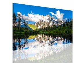 Obraz na plátně jezero, vzor 15062