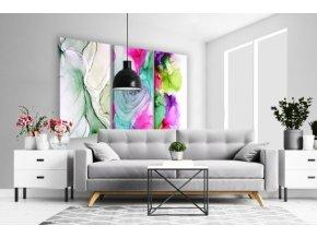 Třídílný obraz na plátně colorful, vzor 41122