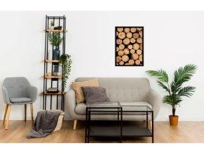 Plakát dřevo, vzor 61069