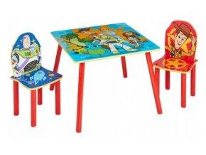 Dětský stůl s židlemi Toy Story 4