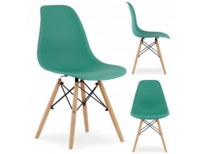Designová židle MASSIMO zelená