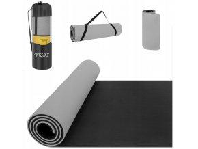 Podložka na cvičení - šedý