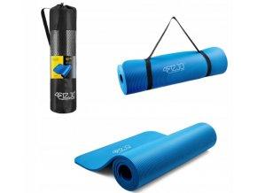 Podložka na cvičení - modrá 1 cm