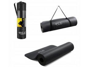 Podložka na cvičení - černá 1 cm