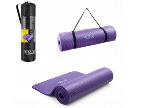 Podložka na cvičení - fialová 1 cm