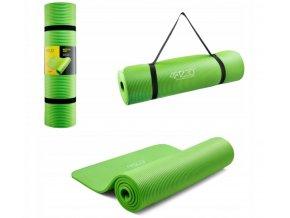 Podložka na cvičení - zelená 1 cm