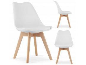 Designová židle ALTO WHITE bílá
