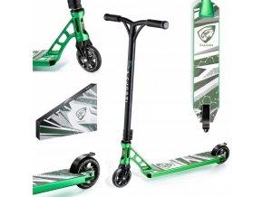 Freestyle koloběžka zelená