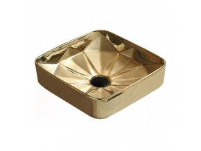Keramické umyvadlo DIVIO MEXEN ELMIRA zlatá