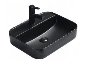 Keramické umyvadlo DIVIO MEXEN ALBA černá