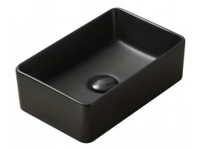 Keramické umyvadlo DIVIO MEXEN NADIA 2 černá