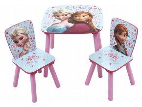 Dětský stůl s židlemi Frozen 05