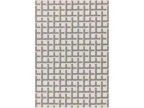 Antibes AN03 White Grey Grid
