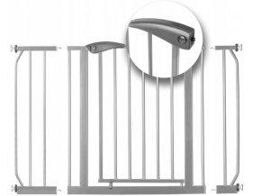 Bezpečnostní zábrana bezpečnostní bariéra 75-115 cm, výška 78 cm, 7408