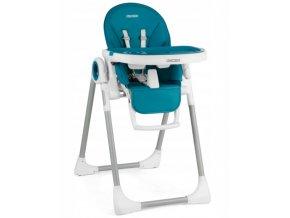 Jídelní židlička tmavě modré, vzor 7197