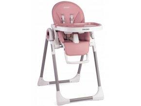 Jídelní židlička růžové, vzor 7094