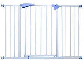 Bezpečnostní zábrana bezpečnostní bariéra 117-130 cm, výška 76 cm