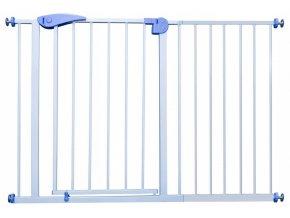 Bezpečnostní zábrana bezpečnostní bariéra 120-132 cm, výška 76 cm