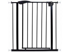Bezpečnostní zábrana bezpečnostní bariéra 75-88 cm, výška 76 cm černá