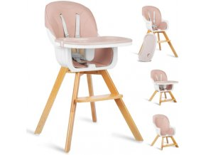 Jídelní židlička růžová, vzor 700203